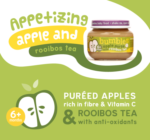 Bumbles baby food apple puree